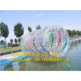 Rouleau gonflable commercial de l'eau de la CE 1.00mm PVC/TPU, rouleau rempli d'eau de pelouse, bille gonflable d'intérieur de roulis