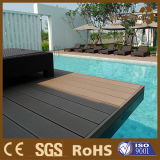 Wood-Plastic Composite Decking Design WPC Outdoor Flooring in Swimming