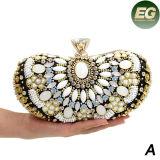 Os sacos de noite de cristal das mulheres da bolsa da embreagem da bolsa luxuosa do Rhinestone têm 3 o tamanho Eb784ABC
