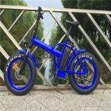 [500و] [48ف] 20 '' يطوي كهربائيّة شاطئ سمين إطار العجلة درّاجة