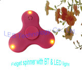Unruhe-Spinner-Druck-Reduzierstück-Spielzeug der Bluetooth Lautsprecher-Musik-LED für Autismus-Erwachsenen, Kind