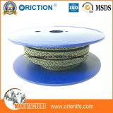 腺のシールの水ポンプのAramid PTFEのパッキングファイバーのガラス繊維のコア輸出業者の圧縮のパッキング