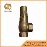 Válvula de segurança de bronze do calefator de água