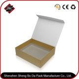 Bronzage du cadre de mémoire de couleur de papier de cadeau de rectangle pour le produit de beauté