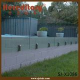 304 Acier inoxydable Verre Clamp Balustrade pour piscine ( SJ- 3206 )