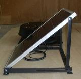 Ventilador de exaustão axial de energia solar DC de parede