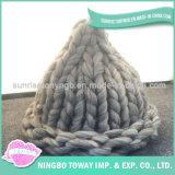 Os melhores tampões extravagantes baratos tricotando manualmente da alta qualidade