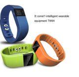 IOS androïde intelligent de la montre Tw64 avec les dispositifs portables intelligents de Bluetooth de moniteur de sommeil de montre-bracelet de mode