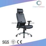 Hoher rückseitiger schwarzer lederner Executivmöbel-Büro-Stuhl