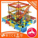Innenseil-Kurs-Kind-Spielplatz stellte für das Klettern ein