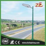 Luz de calle del LED para la iluminación del camino, luz de calle solar toda en una