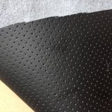 子供の安全シートのための5mm泡によって薄板にされるMicrofiberの革