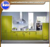 Gabinetes de cozinha brancos lustrosos de Lacqure com Faucet do dissipador (jogo mínimo do pedido um)