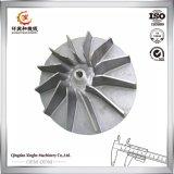 A carcaça de aço personalizada da maquinaria parte o impulsor de aço