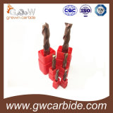 2/3/4 торцевых фрез цементированного карбида каннелюр для алюминия