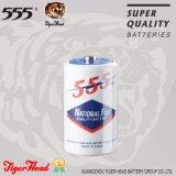 Des Tiger-Kopf-555 Größe Marken-der Batterie-R14s C mit Papierumhüllung mit Superqualität