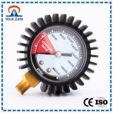 Kundenspezifischer Funktions-Manometer-Gasdruck mit Gummi lud auf