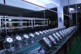 12*15W RGBWA 5in1 LED 동위 64/LED 벽 세탁기 빛