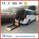 Elevación de sillón de ruedas de la tecnología de Xinder, levantador hidráulico para Van (WL-D-880)