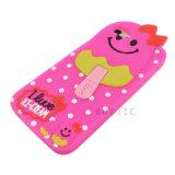 Nueva caja del teléfono del silicón del helado del diseño para la cubierta del teléfono móvil del iPhone 6g 7g 7plus 6plus (H78)