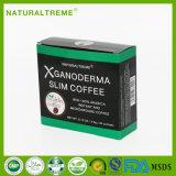 インスタントコーヒーを細くする健康の美のGanodermaのきのこの減量
