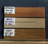 Azulejo de madera del suelo de cerámica