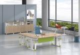 Hts01-2를 가진 백색 주문을 받아서 만들어진 금속 강철 전기 고도 조정가능한 사무실 상승 책상 프레임