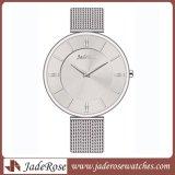 La más nueva manera Warterproof malla banda de cuarzo reloj de señoras