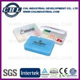 Caja modificada para requisitos particulares dimensión de una variable promocional de la píldora del compartimiento de la insignia 2 de la cápsula