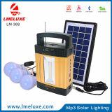Ciao indicatore luminoso solare portatile radiofonico del MP3 /FM di potere