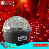 새로운 저렴한 LED 크리스탈 매직 볼 라이트 블루투스 미니 디스코 무대