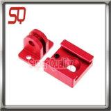 Pezzi meccanici lavorati abitudine di CNC dell'alluminio di precisione delle componenti