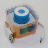 Altofalante de Bluetooth do cilindro relativo à promoção mini com obturador de Selife