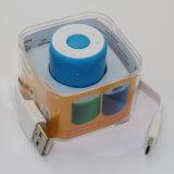 Mini altavoz de Bluetooth del cilindro promocional con el obturador de Selife