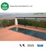 Decking extérieur en gros de WPC pour la piscine
