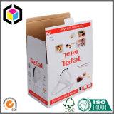 Rectángulo de empaquetado acanalado impresión a todo color del aparato electrodoméstico