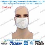 医学の使い捨て可能な非編まれた3plyによってプリーツをつけられる外科Earloopのマスク