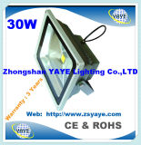 Yaye 18 Ce / RoHS / Saso / UL Melhor Vento 10W LED Flood Light / 10W LED Tunnel Light / 10W Flood Light LED