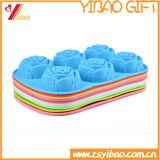Прессформа подноса кубика льда силикона формы цветка высокого качества (YB-AB-020)