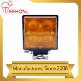 Mini indicatore luminoso bianco ambrato d'agricoltura luminoso eccellente del lavoro LED di colore 12W