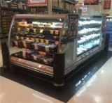 Refrigerador Semi aberto do indicador de Multideck de 3 prateleiras para a mercearia