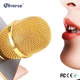 Микрофон Karaoke Q7 Bluetooth беспроволочный с диском USB поддержки диктора