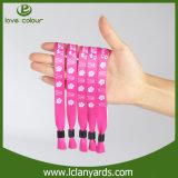 Wristband loco imprimible de la sublimación de encargo para el club