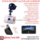 Hot Sale 3.0inch Full HD1080p Car Black Box com Novatek Ntk96650 Chipset, 5.0mega Car Camera, HDMI, 170dgree View Angle Car DVR-3015