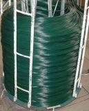 Fil enduit enduit de fer de PVC Wire/PVC de bride de fixation enduite de fil de PVC