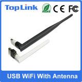 Adattatore del USB WiFi di Top-GS03-T 150Mbps Rt5370 con l'antenna staccabile di RP-SMA per il Android