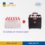 製造業者の多彩なプラスチックは容器のカートを運ぶ