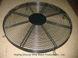 Крышка отработанного вентилятора ячеистой сети порошка сваренная покрытием