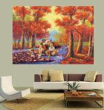 Peinture à l'huile estampée par jet d'encre pour la décoration à la maison