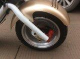 方法Citycoco/Harleyスクーター2の車輪の電気スクーター